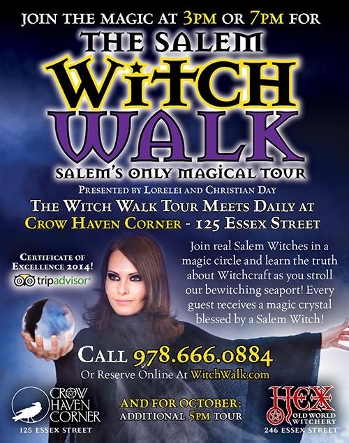 Salem Witch Walk: Salem's Only Magickal Tour